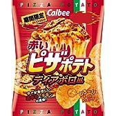 カルビー 赤いピザポテトディアボロ風 70g×12袋
