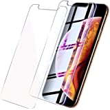 【Amazon限定ブランド】iPhone 11 フィルム iPhone xr ガラスフィルム - 2枚入 高透過率 Arae 飛散防止 9H 旭硝子材 アイフォン11/xr 6.1インチ 2019新型 対応用 強化ガラス