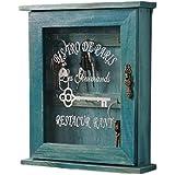 (アメルトン)Amerton アンティーク 木製 キーケース 収納 小物 鍵 コレクション ボックス 雑貨 レトロ 壁掛…