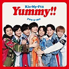 Super Tasty!♪Kis-My-Ft2のCDジャケット