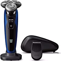 フィリップス 9000シリーズ メンズ 電気シェーバー 72枚刃 回転式 お風呂剃り & 丸洗い可 トリマー付 S918…