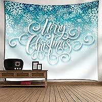 GLYY 北欧柄 クリスマス タペストリー 装飾壁掛けタペストリー 150*200 CM 間仕切り おしゃれ インテリア 寝室 カーテンプレゼント A5