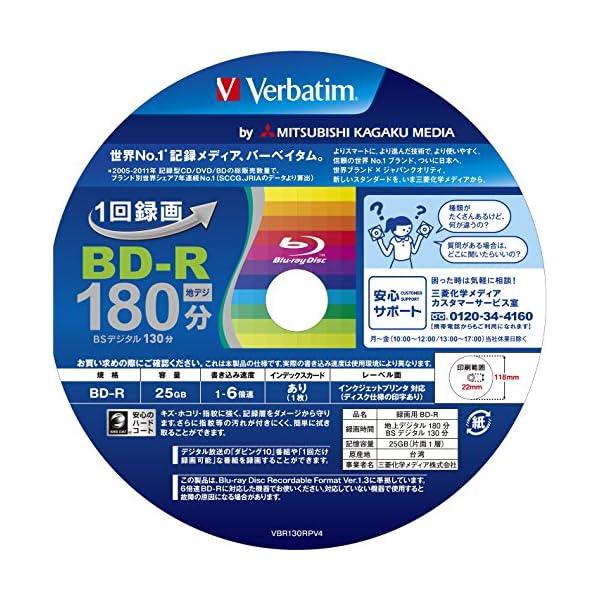三菱ケミカルメディア Verbatim 1回録...の紹介画像4