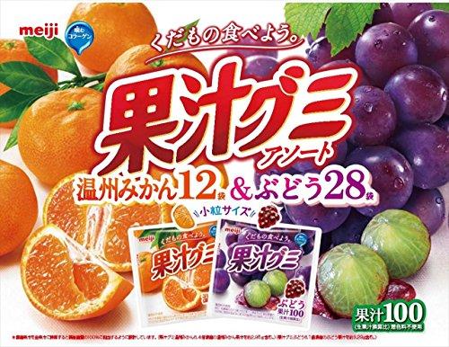 明治 【Amazon.co.jp限定】果汁グミ大容量アソートパック 776g