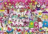 500ピース ジグソーパズル めざせ! パズルの達人 ホラグチカヨ いつもの景色に甘いデコレーションを(38x53cm)