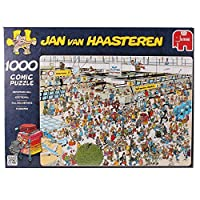 Jumbo Puzzle - Jan van Haasteren - Departure Hall (1000 pieces) [並行輸入品]