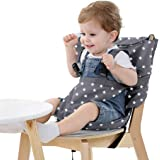 Easy Seat Portable Travel High Chair Safety Washable Cloth Harness for Infant Toddler Feeding with Adjustable Straps Shoulder