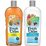 Fresh N Clean Classic Shampoo and Oatmeal Conditioner Bundle: (1) Classic Fresh Scented Shampoo, and (1) Classic Tropical Fre