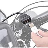 デイトナ バイク専用電源 USBx1 5V/2.1A バッテリー接続 (常時通電) 93039