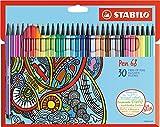 スタビロ 水性ペン ペン68 30色 6830-7