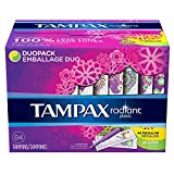 Tampax 29936 Radiant Tampons Regular Super (84 Count)