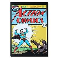 Being Shot Action Superhero オリジナル・ポストカード Superman DC Comics Being Shot Action Superhero カードギフト