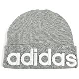 adidas (アディダス) ニット帽 ADS BIG LINEA WATCH 168111801 グレー