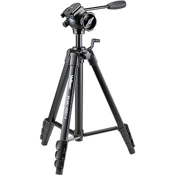 Velbon ビデオ用三脚 レバー式 EX-547 VIDEO N 4段 中型 フリュード雲台付 DIN規格クイックシュー対応 アルミ製 301307