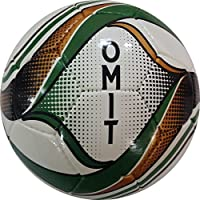 Perrini Omitインドアアウトドアグリーンゴールドスポーツサッカーボールと一致サイズ5
