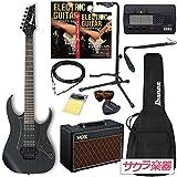 Ibanez アイバニーズ エレキギター RG350ZB/WK サクラ楽器オリジナルVOXアンプセット【Pathfinder 10】