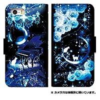 手帳型スマホケース galaxy s9 sc-02k ケース/0114-D. 猫とピアノ/scv38/sc02k ケース 手帳 人気/[Galaxy S9 SC-02K]/ギャラクシーs9 sc-02k カバー
