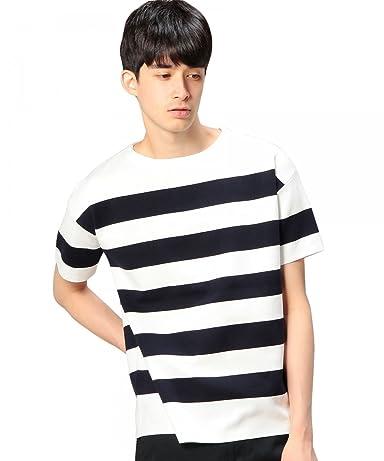 Milano Rib Crewneck T-Shirt 1217-180-8458: Navy