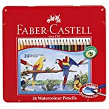 ファーバーカステル 水彩色鉛筆 平缶 24色セット TFC-WCP/24C