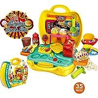 Carfeny おもちゃ お化粧セット ままごとセット 女の子 収納トランクセット