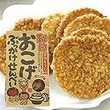 秋田県産株式会社 秋田おこげぶっかけせんべい 醤油&えび味