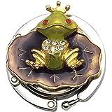 OHAGI バッグハンガー バッグフック バッグホルダー かばん掛け かばんフック カエル 蛙 王子様