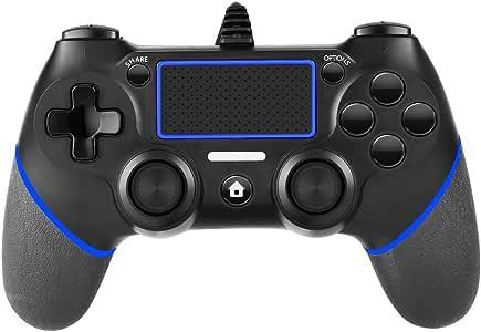 PS4コントローラー 有線 振動 USBケーブル PS3 PC アップデートする必要があります