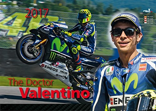 The Doctor Valentino 2017. Valentino Rossi Kalender: Kalender im A3 Querformat