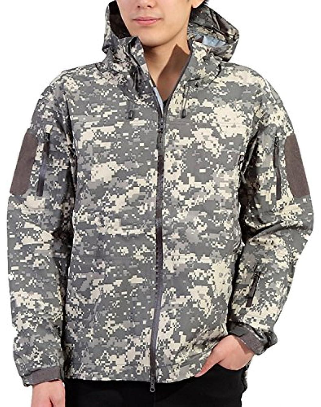 合意観光に行く川ウミネコ(Umineko) レインジャケット メンズ S M L XL XXL 耐水圧10000mm 透湿度10000g 防寒