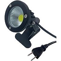 防雨 防水型 led クリップライト 7W 630lm コード長3m led ライト スポットライト 屋外 照明 看板用…