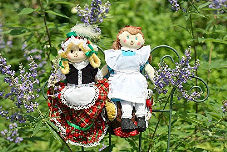 布絵本 布人形 変身人形 フリップオーバードール アリス&ヘンゼルとグレーテル 人形劇 童話の世界2個組みギフトセット 幼児教育