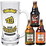 【Web限定】ベアレン醸造所 / ビール3種5本 飲み比べセット 瓶330ml入 特製ジョッキ1個付き(地ビール クラフトビール ギフト グラス)