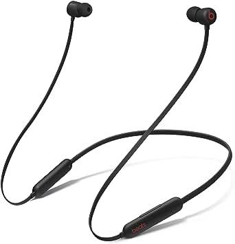 Beats Flexワイヤレスイヤホン – Apple W1ヘッドフォンチップ、マグネット式イヤーバッド、Class 1 Bluetooth、最大12時間の再生時間 - Beats ブラック