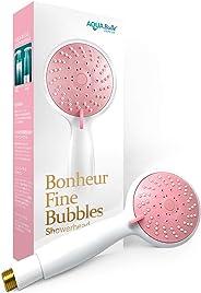AQUA BULLE Bonheur ボヌール ファインバブルシャワーヘッド 肌の透明感 汗の臭い 毛穴の汚れ