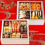 [超早割中] 中華 おせち料理 予約 2018 福寿 [全18品 二段重 3?4人前] 冷凍 送料無料(12/31お届け)