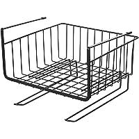 Baskiss キッチン吊り戸棚下多機能ラック 吊戸棚ストレージバスケット クローゼット吊り下げ収納かご デスク/テーブ…
