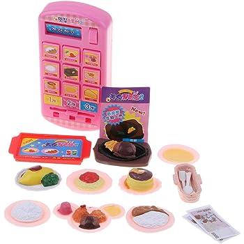 3a129477925ff7 F Fityle 8色選択 食品モデル キャッシュレジスター 玩具セット 子ども お店屋さん ままごと ごっこ遊び - レストラン#2