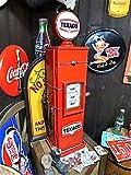秋月貿易 TEXACO ガスポンプ型 レトロ CD・DVDラック 本棚 ショーケースL AK0014