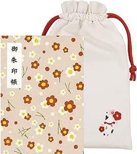 呉竹 御朱印帳 お花柄2 LH10-201