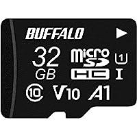 バッファロー microSD 32GB 100MB/s UHS-1 U1 【 Nintendo Switch / ドライ…