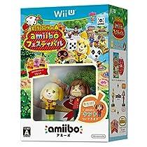 Wii U どうぶつの森 amiiboフェスティバル(amiibo しずえ【冬服】& amiiboカード 3枚)同梱 【早期特典】amiibo ケント付