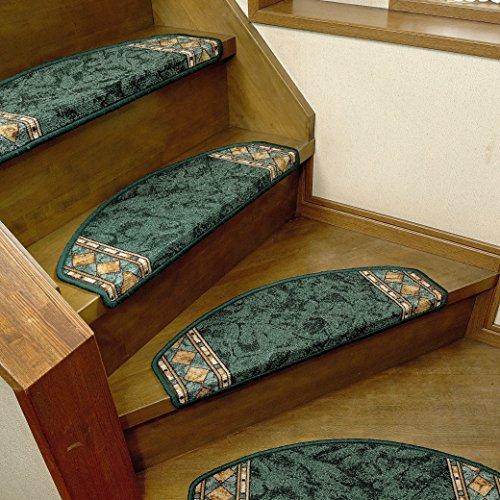 [해외]2018 년 최신작 벨기에 제 고급 계단 매트 유럽 계단 매트 양면 테이프 미끄럼 방지 기능 (매수 색상 배포 유)/2018 Latest work Belgian made luxury stairs mat European staircase mat double-sided tape with anti-slip (number of sheets · co...