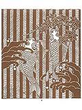 【伊勢型紙】型抜き図案(型紙付き)3 登り鯉