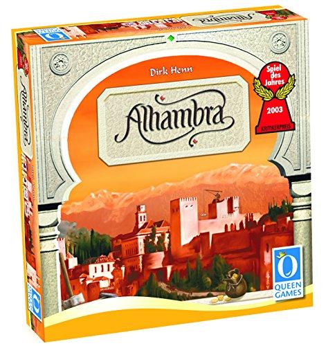 Alhambra. Spiel: Spiel des Jahres 2003. Für 3 - 6 Spieler ab 10 Jahren. Spieldauer: 60 Minuten