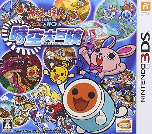 太鼓の達人 どんとかつの時空大冒険 - 3DSの詳細を見る