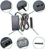 POOKaa ラップトップノートブックのための96Wユニバーサル電源充電アダプタAC 特徴: (ブラック)