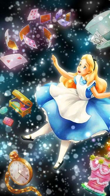 ディズニー  iPhone/Androidスマホ壁紙(480×854)-1 - アリス