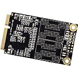 SATA3.0 内蔵mSATAソリッドステートドライブ ミニSATA SSDディスク 1.8インチ パソコン用 全3容量 - 128GB