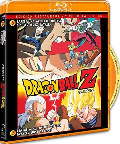 Pack Dragon Ball Z. 。Batalla Al L匇ite! Los 3 Grandes Super Saiyans+ 。Arde! Una Ardiente, Intensa Y Super Feroz...