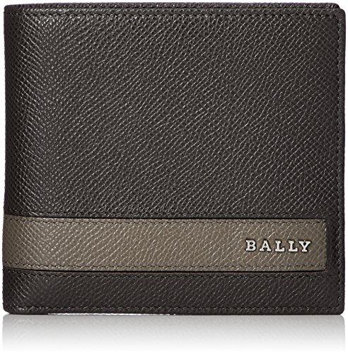 [バリー]二つ折り財布 LETTERING ブラウン [並行輸入品]